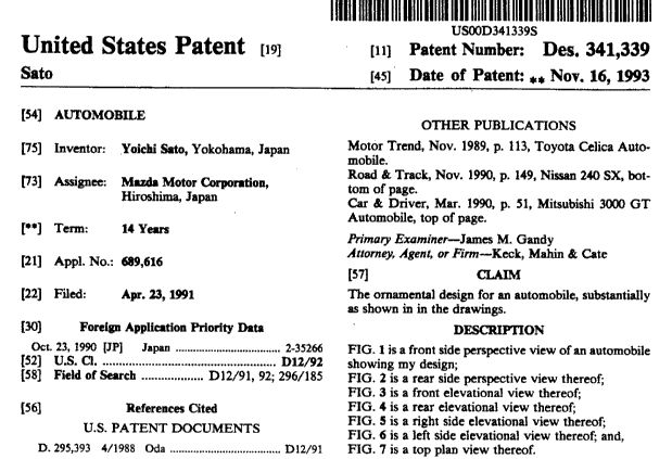 US Patent Information